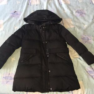Kid's Black Coat